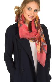 Becksöndergaard | Luxe sjaal Rosea | roze  | Afbeelding 2