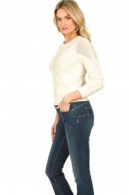 Patrizia Pepe    Knitted sweater   natural    Picture 4