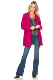 Kocca    Classic coat Anta   pink    Picture 3
