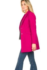 Kocca |  Classic coat Anta | pink  | Picture 5