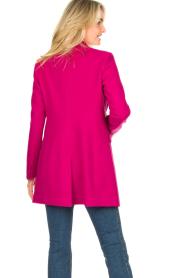 Kocca |  Classic coat Anta | pink  | Picture 6