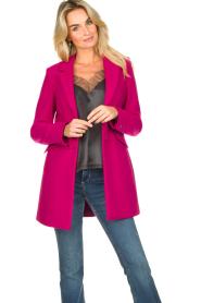 Kocca |  Classic coat Anta | pink  | Picture 2
