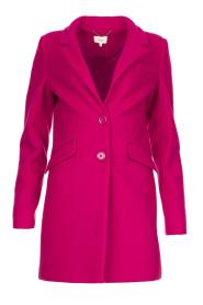 Kocca |  Classic coat Anta | pink  | Picture 1