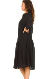 Set |  Cotton midi dress Jane | black  | Picture 6