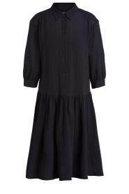 Set |  Cotton midi dress Jane | black  | Picture 1