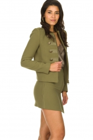 Patrizia Pepe    Skirt with buttons Janna   green    Picture 4