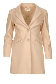 Kocca |  Classic coat Anta | beige  | Picture 1