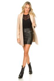 Kocca |  Classic coat Anta | beige  | Picture 3