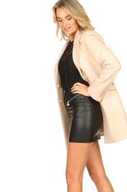 Kocca |  Classic coat Anta | beige  | Picture 6