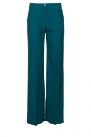 Patrizia Pepe |  Straight pants Ocean | turqoise  | Picture 1