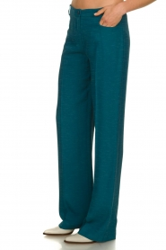 Patrizia Pepe |  Straight pants Ocean | turqoise  | Picture 5