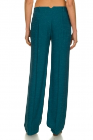 Patrizia Pepe |  Straight pants Ocean | turqoise  | Picture 6