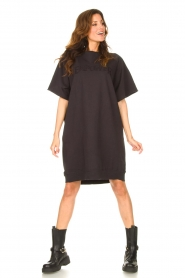 Set | Sweater jurk Rina | zwart  | Afbeelding 3