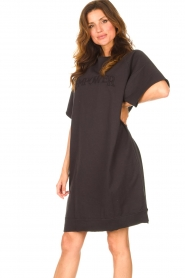 Set | Sweater jurk Rina | zwart  | Afbeelding 4