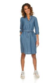 Set |  Denim dress Maeve | blue  | Picture 3