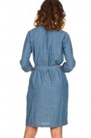 Set |  Denim dress Maeve | blue  | Picture 6