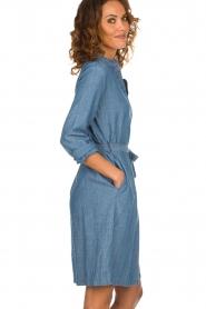 Set |  Denim dress Maeve | blue  | Picture 5