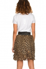 Set |  Skirt with leopard print Lilly | brown  | Picture 5