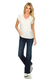 Patrizia Pepe |  Flared jeans Stella | blue  | Picture 3