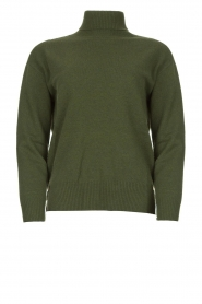 Kocca |  Knitted sweater Mister | green  | Picture 1
