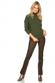 Kocca |  Knitted sweater Mister | green  | Picture 3