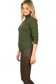 Kocca |  Knitted sweater Mister | green  | Picture 5