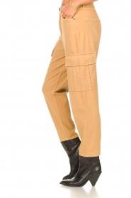 Set |  Cargo pants Rose | camel  | Picture 7