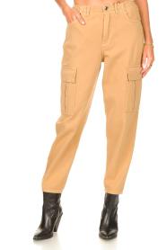 Set |  Cargo pants Rose | camel  | Picture 6