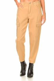Set |  Cargo pants Rose | camel  | Picture 5