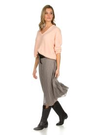Set |  Glitter plisse skirt Tori | silver  | Picture 6