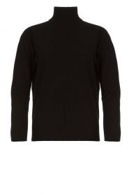 Kocca |  Knitted sweater Mister | black  | Picture 1