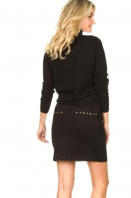 Kocca |  Knitted sweater Mister | black  | Picture 6