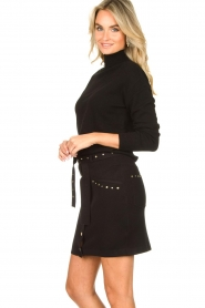 Kocca |  Knitted sweater Mister | black  | Picture 5