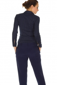 Patrizia Pepe |  Body blouse Esra | dark blue  | Picture 5