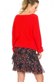 Set |  Floral skirt with ruffles Mirra | black  | Picture 5