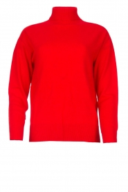 Kocca |  Knitted sweater Mister | red  | Picture 1