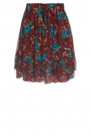 Set |  Floral skirt Moana | bordeaux  | Picture 1
