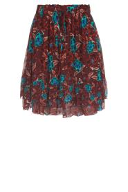 Set |  Floral skirt Moana | bordeaux  | Picture 1