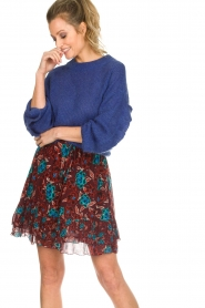 Set |  Floral skirt Moana | bordeaux  | Picture 2