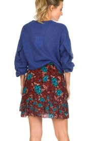 Set |  Floral skirt Moana | bordeaux  | Picture 6