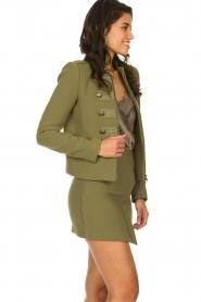 Patrizia Pepe |  Militairy jacket Janna | green  | Picture 4