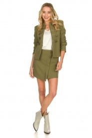Patrizia Pepe |  Militairy jacket Janna | green  | Picture 3