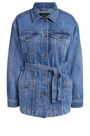 Set |  Denim jacket Mara | blue  | Picture 1