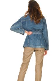Set |  Denim jacket Mara | blue  | Picture 8