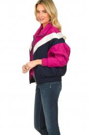 Patrizia Pepe |  Sporty jacket Lana | blue  | Picture 3