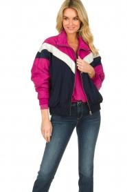 Patrizia Pepe |  Sporty jacket Lana | blue  | Picture 2