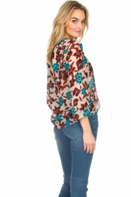 Set |  Top with flower print Stephie | multi  | Picture 6