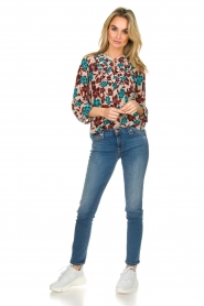 Set |  Top with flower print Stephie | multi  | Picture 3