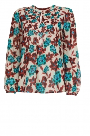 Set |  Top with flower print Stephie | multi  | Picture 1