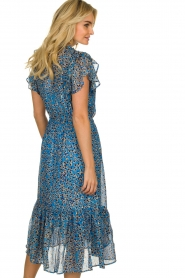 Munthe |  Dress with print Jezz | blue  | Picture 5